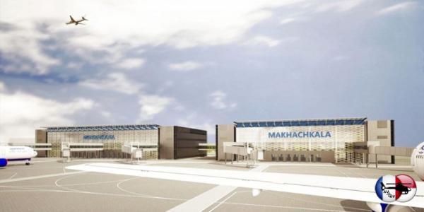 В Махачкале продолжается реконструкция аэропорта