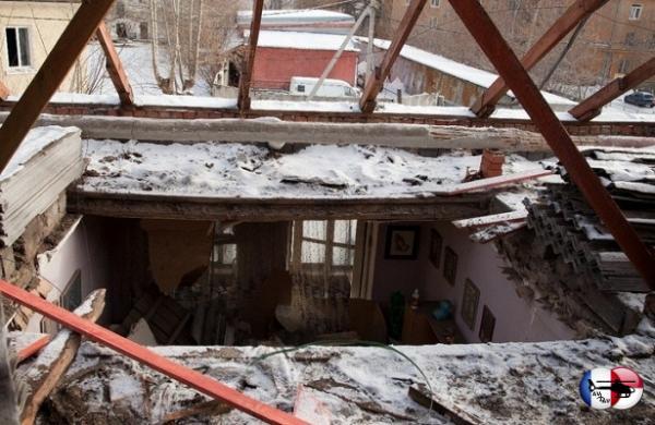 ДомнаУралмаше собрушившимся потолком признали пригодным дляжилья&nbsp