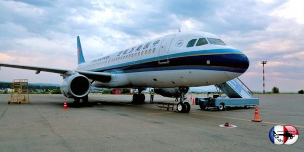 China Southern Airlines начала полёты в Иркутск
