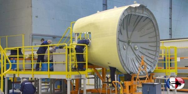 АО «Авиастар-СП» отправило в Иркутск подкилевой отсек для третьего самолёта МС-21
